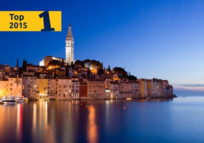 Rovinj, der beste Ferienort in Kroatien