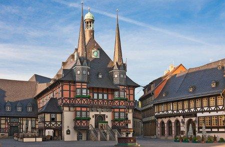 Das alte Rathaus von Wernigerode