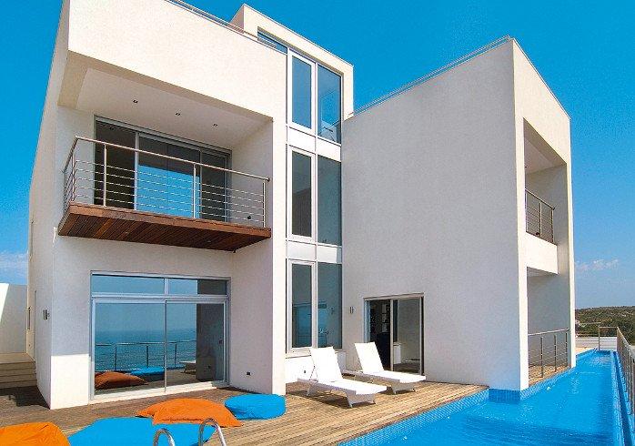 Ein Designerhaus als visuelles Äquivalent für das Design der atraveo-Seite