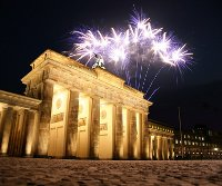 Silvester am Brandenburger Tor