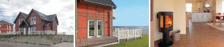 Direkt am Meer gelegenes Ferienhaus für bis zu vier Personen