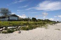 vakantiehuis direct aan het Tørresø Strand