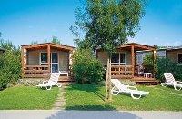 Häuser an der italienischen Adria