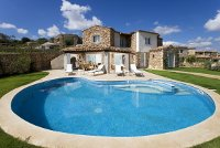 Pool villa on Sardinia