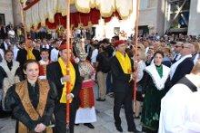 Prozession zu Ehren des heiligen Domnius