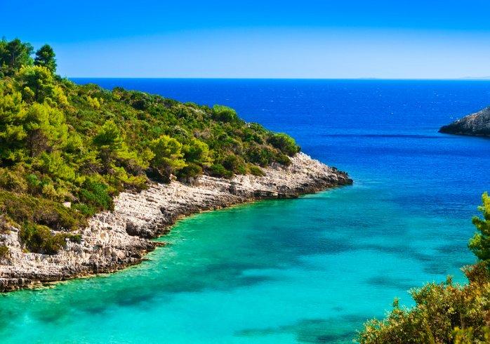 Croatia - Blue beauty at the Adriatic Coast