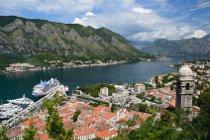 Kotor, Hauptort der Bucht