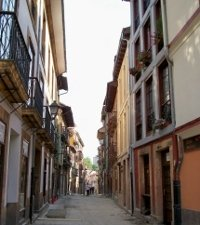 In the old town centre of Oviedo