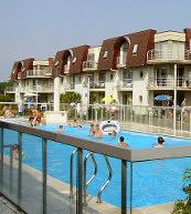 Résidence de vacances située près de la mer à Bredene.