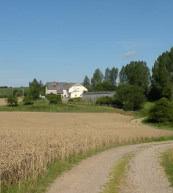 Urlaub auf dem Bauernhof in Deutschland.