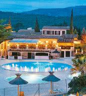 Ferienpark in der Nähe von Saint-Raphael an der Cote d' Azur.