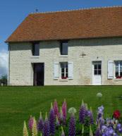 Ancienne ferme pour neuf personnes située en Normandie.