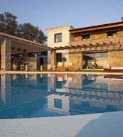 Unweit von Kerkira gelegene Ferienvilla für bis zu sechs Personen.