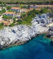 Ferienwohnung für fünf Personen auf einem an der Steilküste gelegenen Anwesen.