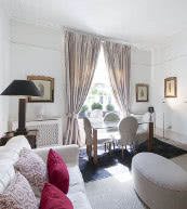 Appartement pour quatre personnes situé dans le quartier de Kensington.