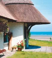 Cottage für bis zu sechs Personen bei Laytown an Irlands Ostküste.