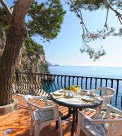 Vue sur la côte amalfitaine d'un appartement de vacances pour 4 personnes