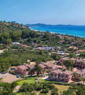 Direkt am Meer gelegene Ferienanlage an der Costa Rei.