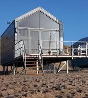 Maison de vacances pour 6 personnes située sur la plage de Julianadorp.