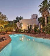 Pool bei einem in den andalusischen Bergen gelegenem Landhaus für acht Personen.