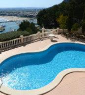 Villa de vacances pour six personnes située en amont de Calonge.