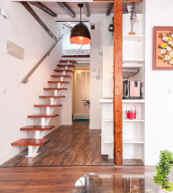 Apartment für drei Personen im Herzen von Madrid.