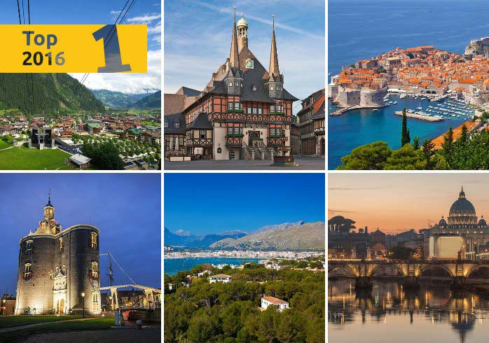 Die besten Ferienorte für Ferienhausurlauber 2016