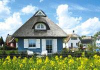 Reetdachhaus auf Rügen für den Urlaub