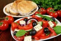 Griechischer Salat als Vorspeise