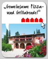 Kundenbewertung zum Ferienhausurlaub in der Toskana