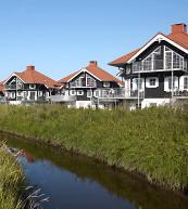 Parc de vacances de la côte est du Jutland.