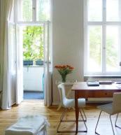 Appartement Art Nouveau pour trois personnes situé à Berlin-Schöneberg.