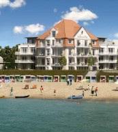 Direkt am Strand gelegenes Apartmenthaus auf Föhr.