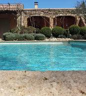 Landestypische Ferienvilla mit eigenem Pool im Languedoc.