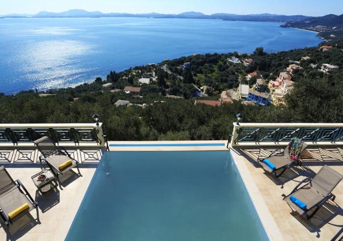 Ferienh user ferienwohnungen auf korfu griechenland for Design hotels griechenland