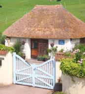 Romantisches Cottage für zwei Personen in Devon.
