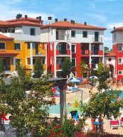 Parc de vacances situé près de Caorle sur les bords de l'Adriatique nord-italienne.