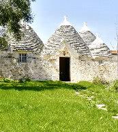 Trullo für sechs Personen im Herzen von Apulien.