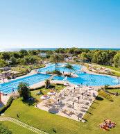 Parc de vacances en bord de mer situé près de Gallipoli.