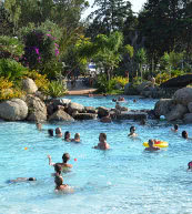 Ferienpark bei Bari Sardo Ogliastra an der Westküste von Sardinien.