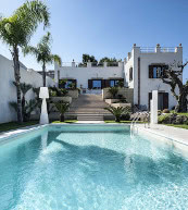 Villa pour six personnes avec piscine près de Trapani.