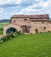 Domaine agricole pour 15 personnes magnifiquement situé dans le val d'Orcia.