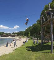 Parc de vacances situé près de 't Loo dans la Veluwe.