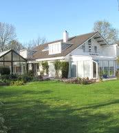 Maison de vacances pour douze personnes située en Zélande.