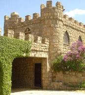 Ici, vous ne louerez pas seulement ce château fort situé en Castille mais aussi la petite île tout entière sur laquelle il se trouve.
