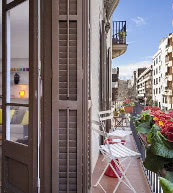 Apartment für zwei Personen im Stadtteil Sant Gervasi.